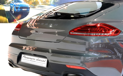 Back of Porsche